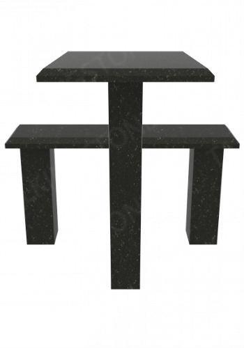 Стол-лавочка на могилу GG7306