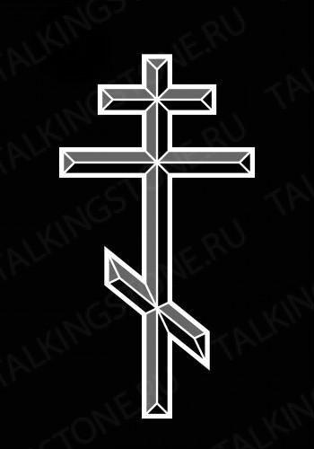 Гравировка крест GG8255