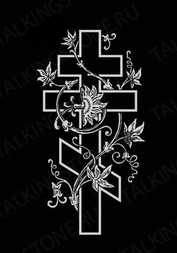 Гравировка крест GG8261