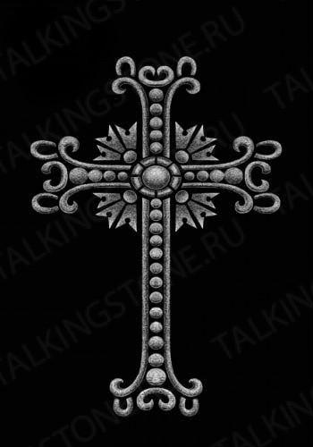 Гравировка крест GG8262