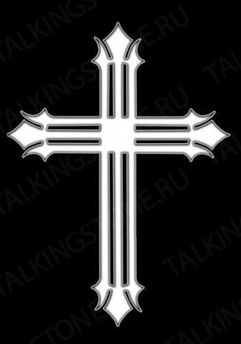 Гравировка крест GG8268
