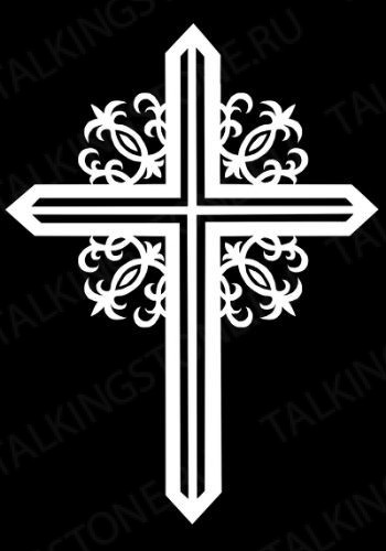 Гравировка крест GG8270