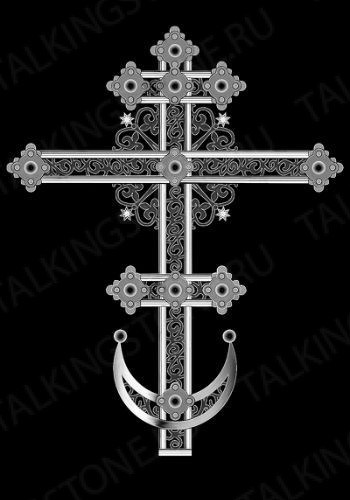 Гравировка крест GG8272