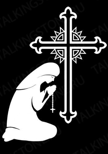 Гравировка крест GG8278