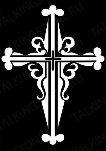Гравировка крест GG8280