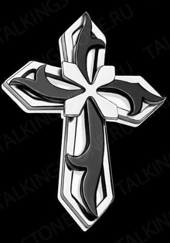 Гравировка крест GG8281