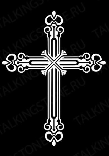Гравировка крест GG8282