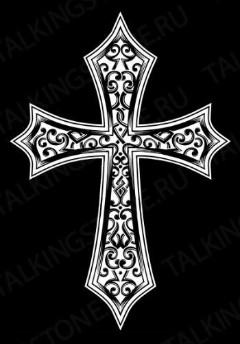 Гравировка крест GG8283