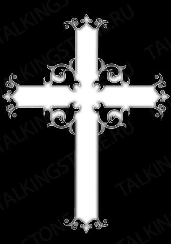 Гравировка крест GG8289