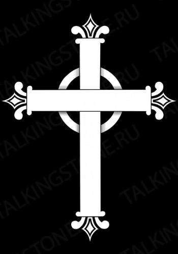 Гравировка крест GG8293