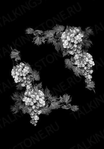 Гравировка цветов на памятник GG8729