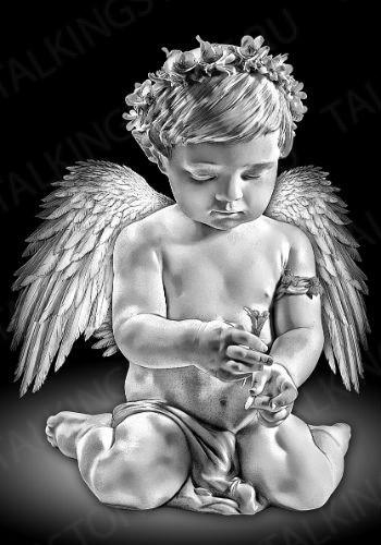 Гравировка ангел GG8006