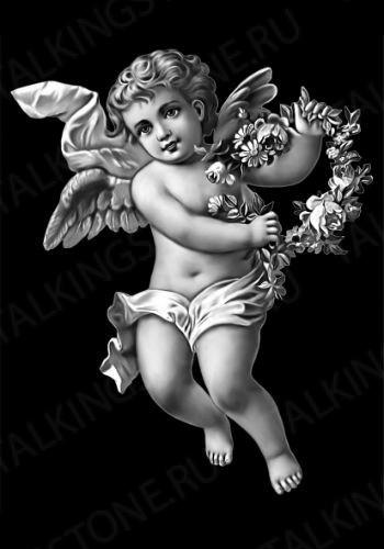 Гравировка ангел GG8008