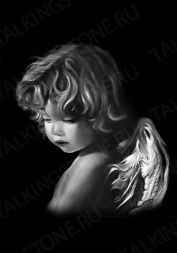 Гравировка ангел GG8011