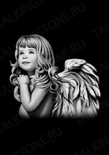 Гравировка ангел GG8012