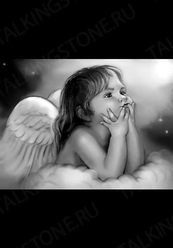 Гравировка ангел GG8014