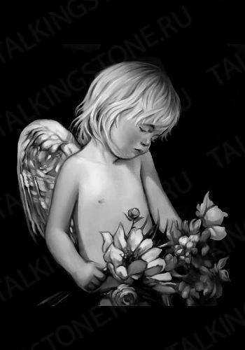 Гравировка ангел GG8015