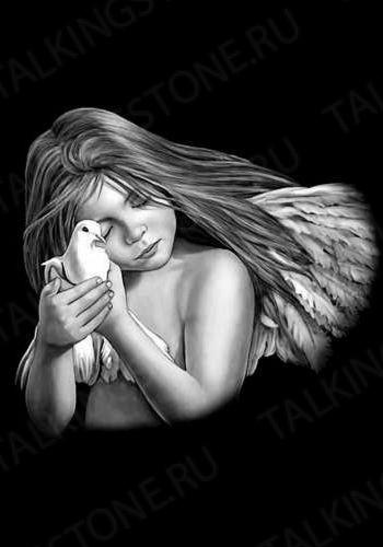 Гравировка ангел GG8017