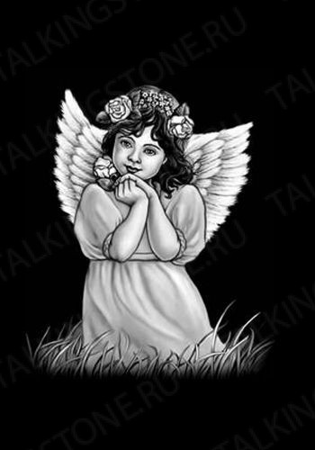 Гравировка ангел GG8018