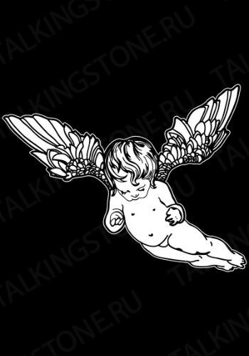 Гравировка ангел GG8022