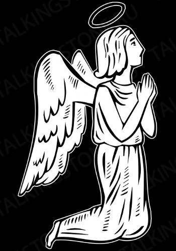 Гравировка ангел GG8024