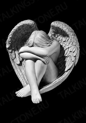 Гравировка ангел GG8025