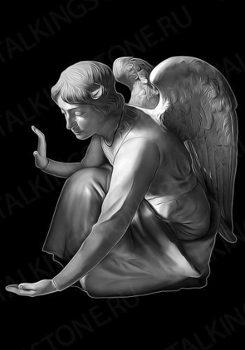 Гравировка ангел GG8028