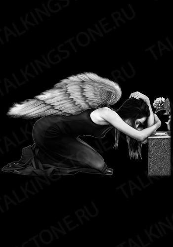 Гравировка ангел GG8030