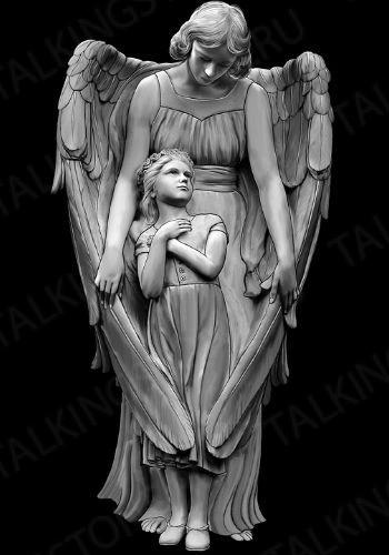 Гравировка ангел GG8031