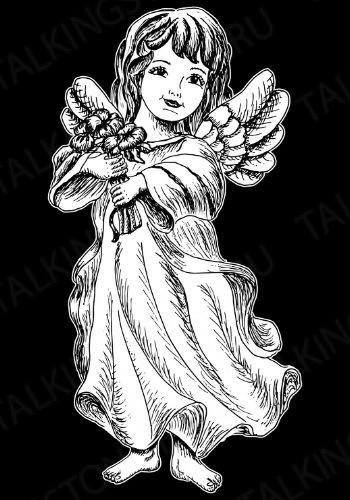 Гравировка ангел GG8032