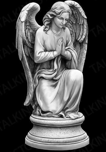 Гравировка ангел GG8033