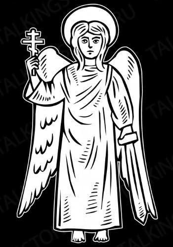 Гравировка ангел GG8036