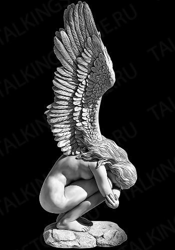 Гравировка ангел GG8041