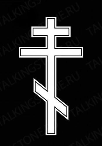 Гравировка крест GG8254
