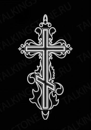 Гравировка крест GG8257