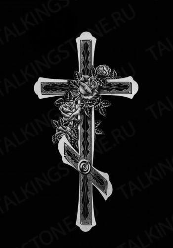 Гравировка крест GG8263