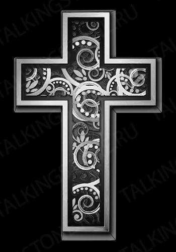Гравировка крест GG8273