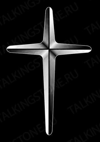 Гравировка крест GG8285