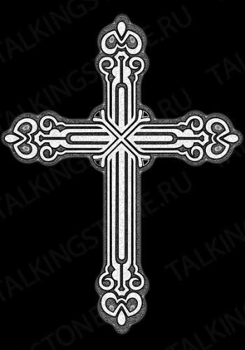 Гравировка крест GG8288