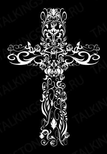 Гравировка крест GG8291
