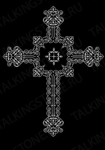 Гравировка крест GG8292