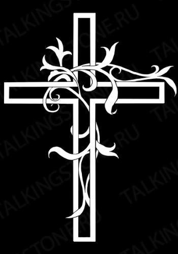 Гравировка крест GG8295