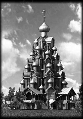 Гравировка храм GG8327