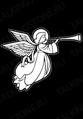 Гравировка ангел GG8021