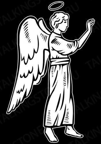 Гравировка ангел GG8035