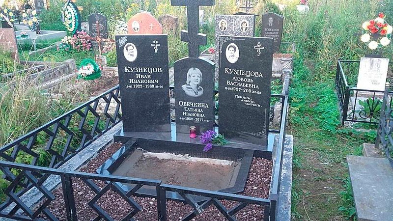 Изготовление и установка надгробий