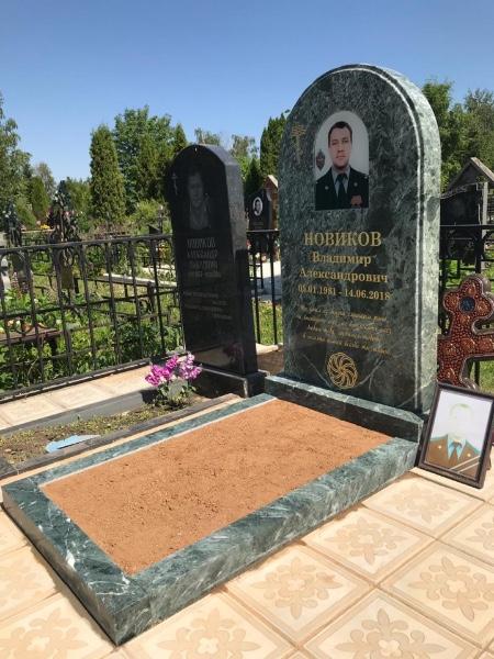 Изготовление памятников и благоустройство захоронения