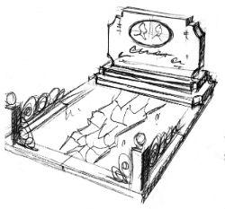 Гранитный комплекс на могилу купить