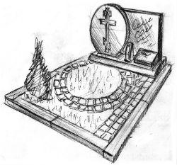 Памятники и мемориальные комплексы на могилу