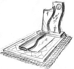 Комплекс памятник на могилу